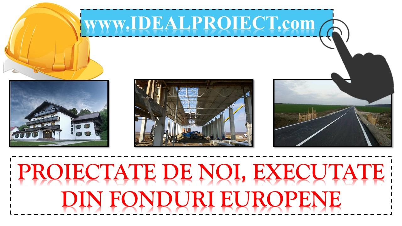 proiectate de noi executate din fonduri europene
